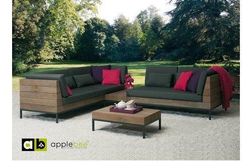 Apple Bee tuinmeubelen Long Island Loungeset | Opstelling 1