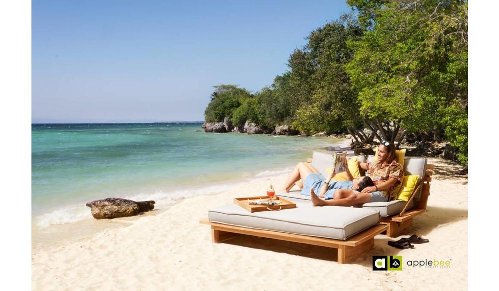 Loungebank Robinson | Met luifel
