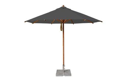 Bambrella Bambrella Parasol Levante - 4m rond - Taupe Spuncrylic
