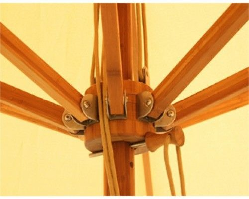 Parasol Levante | 4 meter ⌀ | Taupe | Spuncrylic