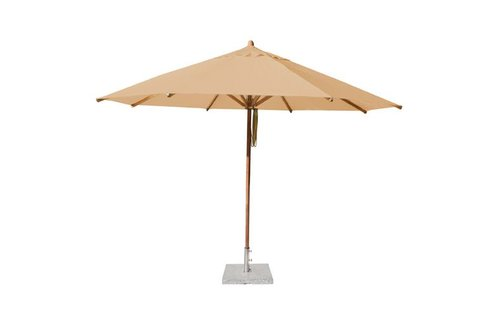 Bambrella Bambrella Parasol Levante - 4m rond - Khaki Polyester