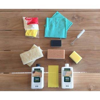 Golden Care Complete onderhoudskit voor Teak Tuinmeubelen