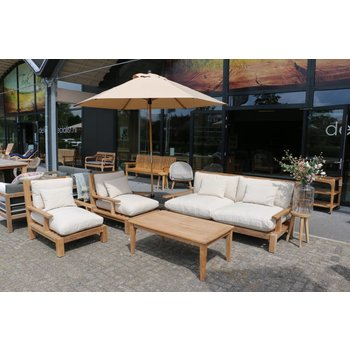 Garden Teak Loungeset | Day lounge | Set 1