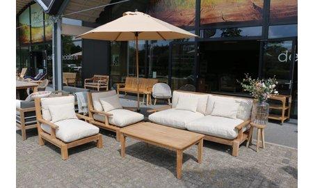 Garden Teak Loungeset | Day lounge | Set 1
