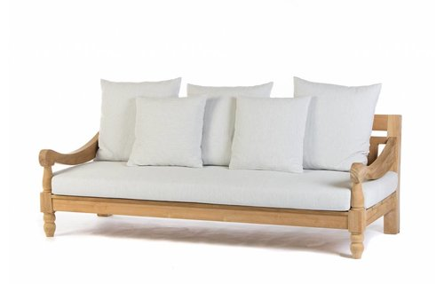 Garden Teak Loungebank California