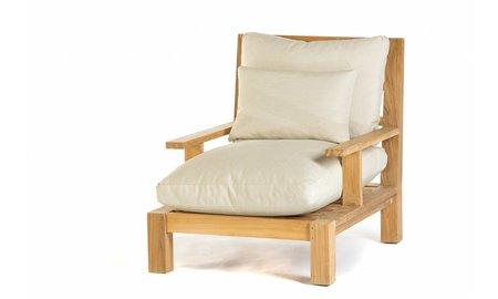 Garden Teak Lounge stoel Day lounge
