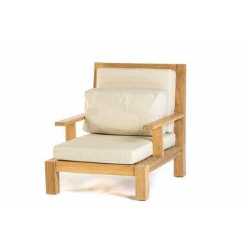 Garden Teak Lounge stoel Daylounge