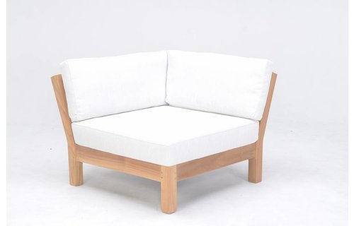 Garden Teak Loungestoel Coffee Bay | Corner
