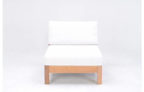 Garden Teak Loungestoel Coffee Bay | Single