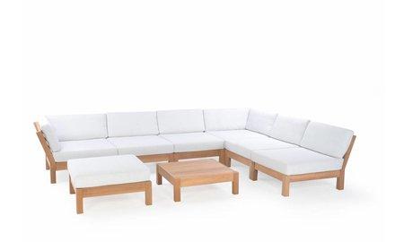 Garden Teak Loungeset Coffee Bay   Set 1