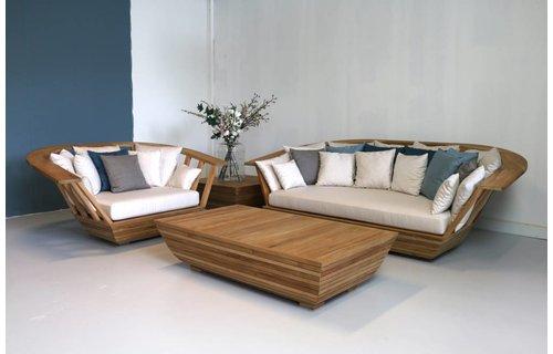 Garden Teak Woodbay Loungeset