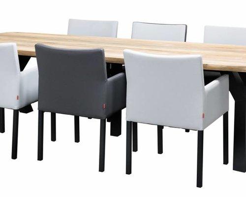 Tuintafel Atlanta | 300 x 105 cm | Donker grijs