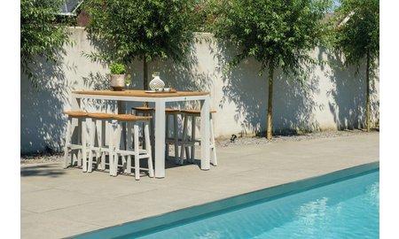 SUNS tuinmeubelen Barset Sense | 180 x 80 cm | Set 2