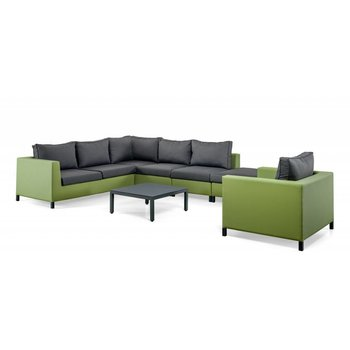 SUNS Loungeset Menor |  groen-grijs (set 3)