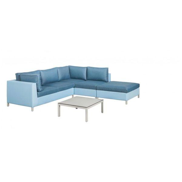 SUNS Loungeset Menor | Blauw-licht grijs | Set 6