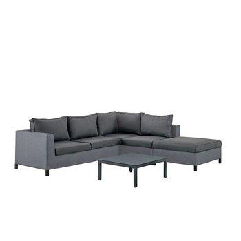 SUNS Loungeset Menor |  zwart-grijs (set 5)