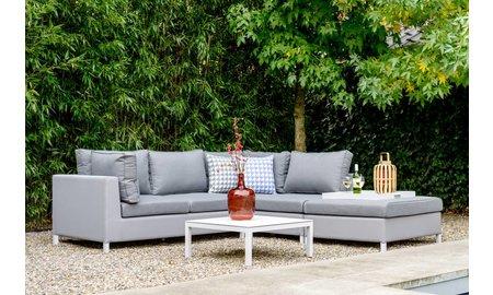 SUNS tuinmeubelen Loungeset Menor | Taupe grijs | Set 8