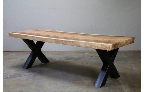 Wolfwood Boomstamtafel 350 | Industrieel | Kruispoot