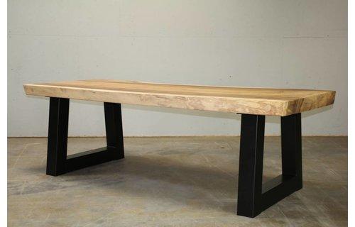 Wolfwood Boomstamtafel 350 | Industrieel | Trapezium