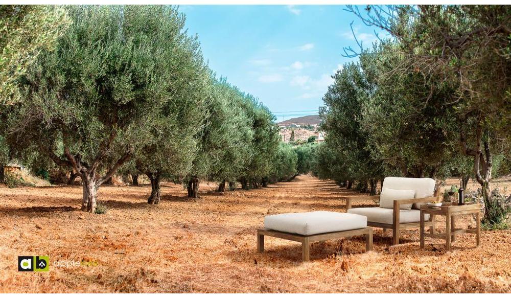 Loungestoel Olive