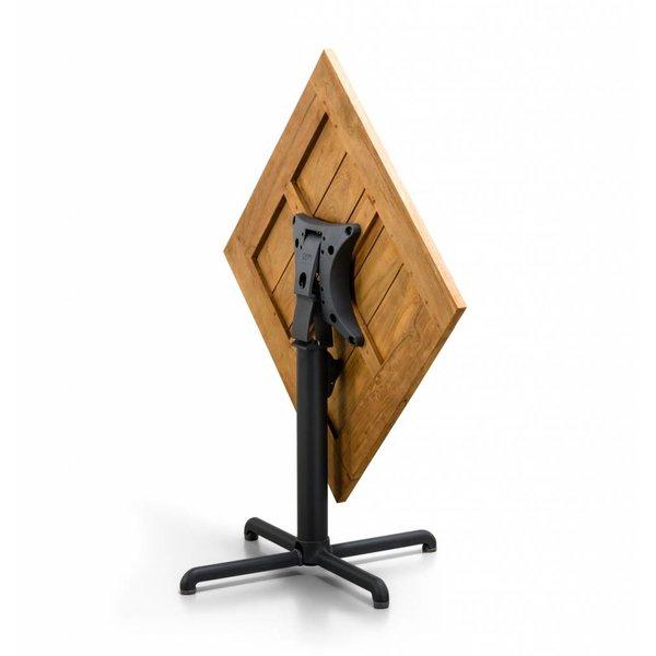 SUNS Tuintafel Chill | 80 x 80 cm | Mat royal grijs