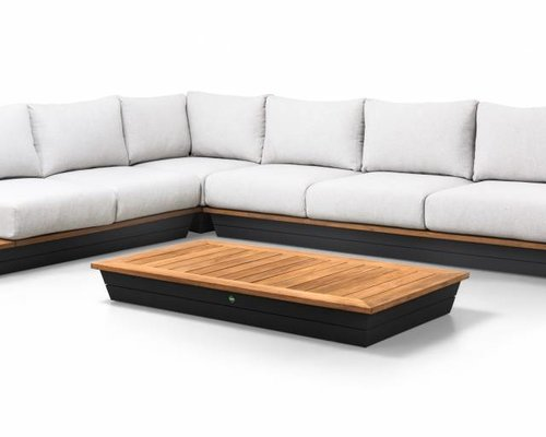 Loungeset Java | Mat royal grijs