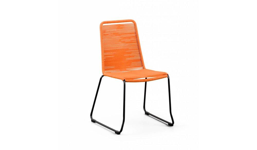 Stapelstoel Elos | Oranje