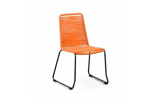 SUNS tuinmeubelen Stapelstoel Elos | Oranje
