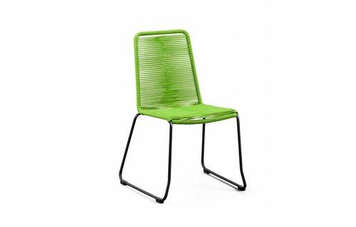 SUNS tuinmeubelen Stapelstoel Elos | Rope | Groen