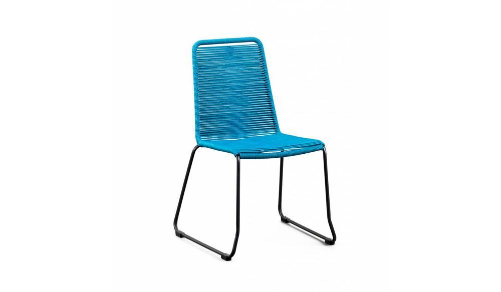 Stapelstoel Elos | Blauw