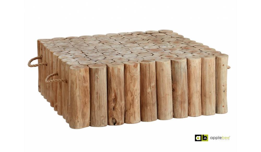 Loungetafel Twiggy | 95 x 95 cm