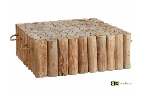 AppleBee tuinmeubelen Lounge tafel Twiggy | 95 x 95 cm
