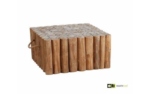AppleBee tuinmeubelen Lounge tafel Twiggy | 70 x 70 cm