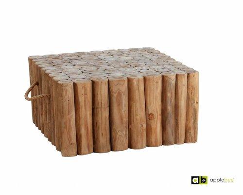 Loungetafel Twiggy | 70 x 70 cm