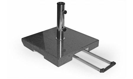 Brafab Parasolvoet Mito | 50 kg | Zwart