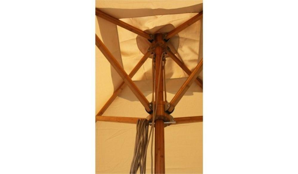 Parasol Levante   3,5 meter ⌀   Ice White   Spuncrylic