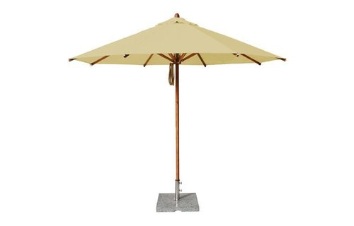 Bambrella Bambrella Parasol Levante - 3,5m rond - Khaki Polyester