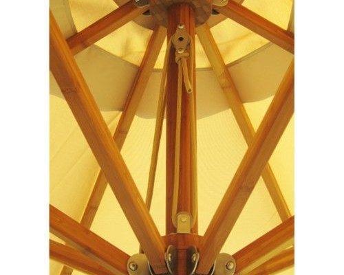 Parasol Levante | 3,5 meter ⌀ | Khaki | Polyester