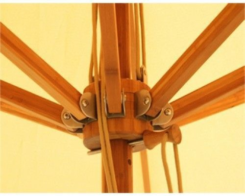 Parasol Levante | 4 meter ⌀ | Nature | Polyester