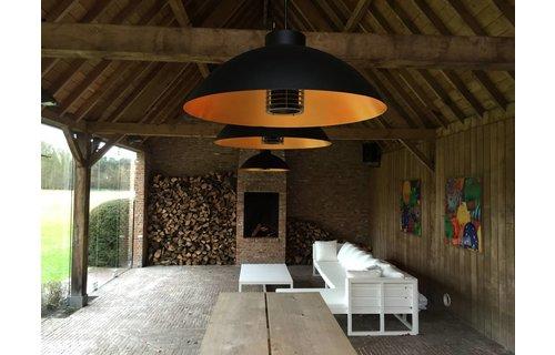 Heatsail Dome Pendel - mat zwart
