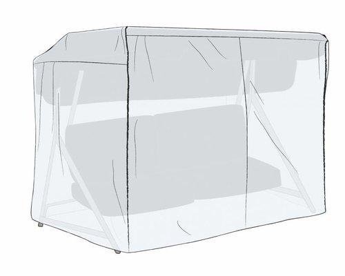 Beschermhoes transparant schommelstoel 205x130x160