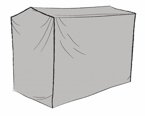 Beschermhoes grijs schommelstoel 205x130x160