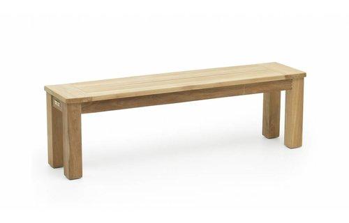 Garden Teak James Tuinbank (zonder rug) | 150 cm