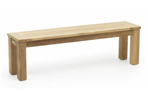 Garden Teak James Tuinbank (zonder rug) | 190 cm