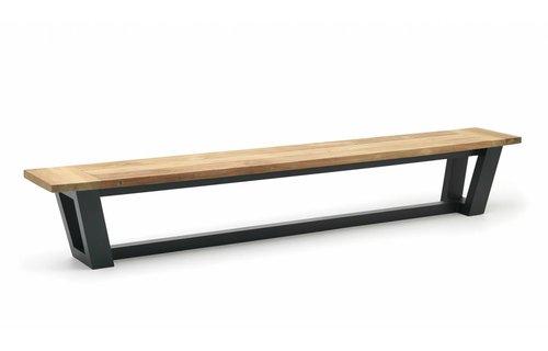 Wolfwood George Tuinbank | Teakhout & Aluminium |  280  cm