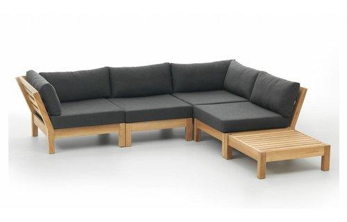 Garden Teak Loungeset Coffee Bay | Set 4