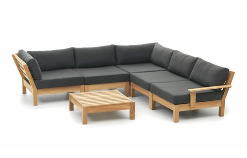 Garden Teak Loungeset Coffee Bay | Set 5
