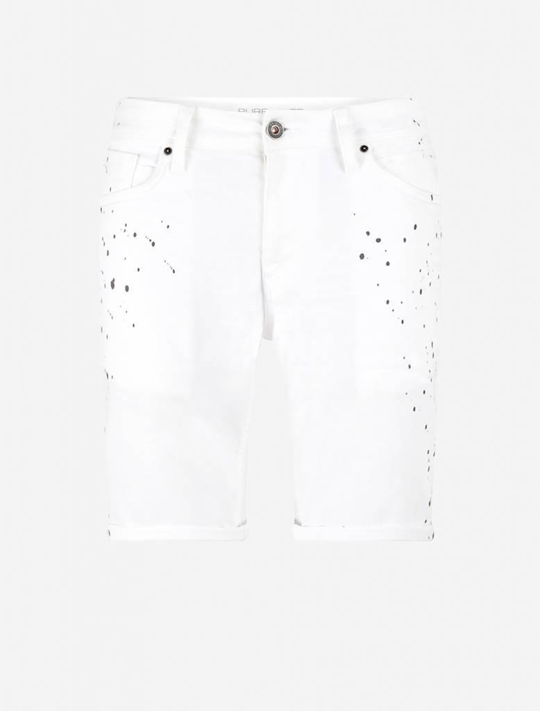 Purewhite Purewhite Spetter Short White