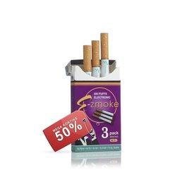 Wegwerp e-sigaret Menthol 3 pack