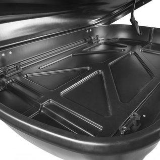 junor PerfectFit Travelbox 320 Liter matt schwarz